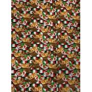 Tecido Tricoline Coleção Pizza 4 -  50 x 1,50M