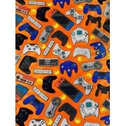 Tecido Tricoline Gamer - 50 x 1,50M