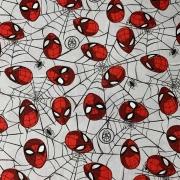 Tecido Tricoline Homem Aranha - 0,50cm X 0,70cm