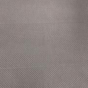 Tecido Tricoline Mini Poá Cinza  1M X 1,50M