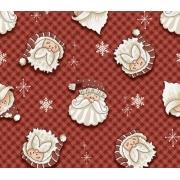 Tecido Tricoline Natal #01 - 50X1,50CM