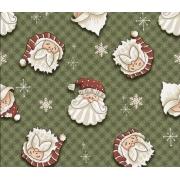 Tecido Tricoline Natal #02 - 50X1,50CM