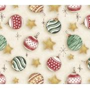 Tecido Tricoline Natal #05 - 50x75CM