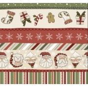 Tecido Tricoline Natal #07 - 50x75CM