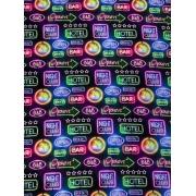 Tecido Tricoline Neon - 50cm x 1,50m