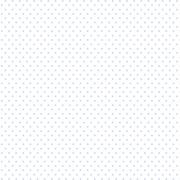 Tecido Tricoline Poá Branco e Azul Candy - 0,50CM X 1,50M
