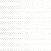 Tecido Tricoline Poá Branco e Verde Candy - 0,50CM X 1,50M