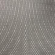 Tecido Tricoline Poá Cinza  1M X 1,50M