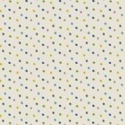 Tecido Tricoline Poa Colorido Azul  0,50CM X 1,50CM