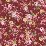 Tricoline Floral Romantic 0,50CM X 1,50M
