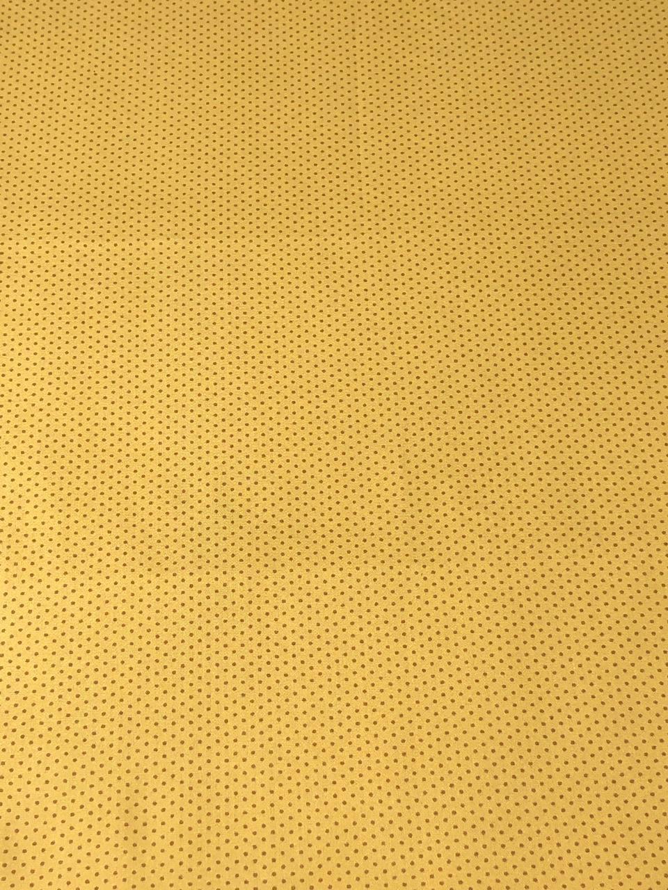 Kit de Tecido Tricoline Coleção Girassol Fundo Bege - 50x75cm