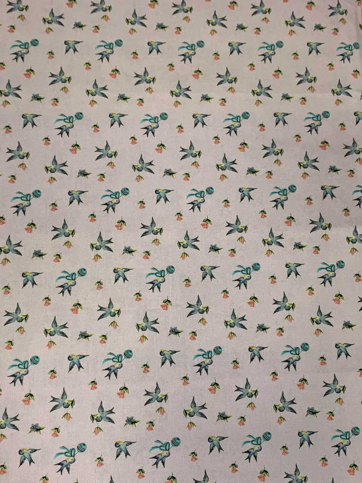 Tecido Tricoline Coleção Baby 2 - 50 x 1,50M