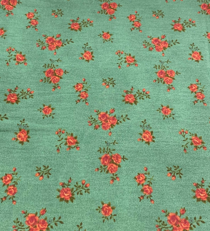 Tecido Tricoline Coleção Floral 0,50CM X 1,50CM