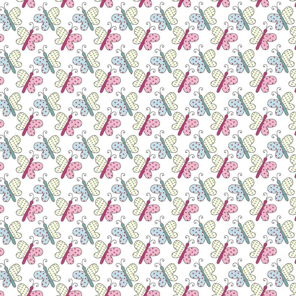 Tecido Tricoline Coleção Sonho e Magia #4 - 0,50CM x 1.50CM