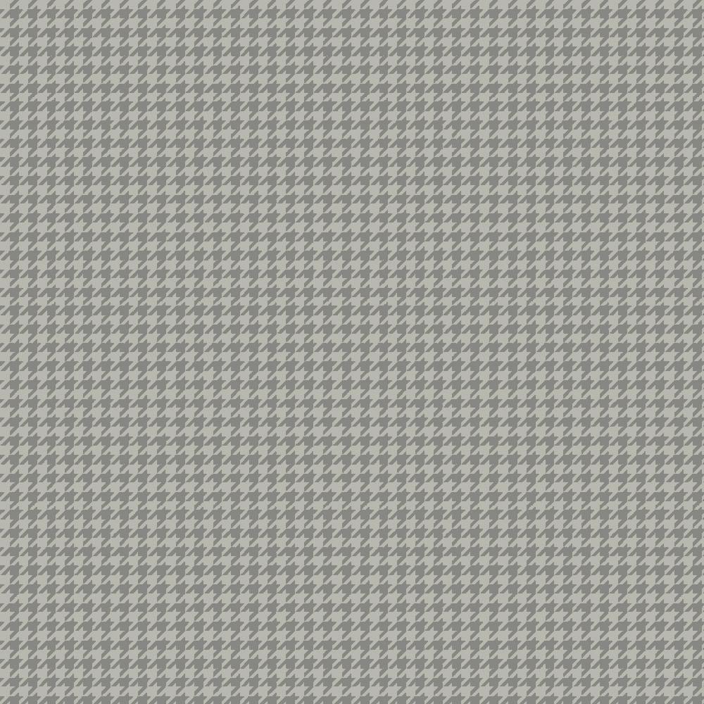 Tecido Tricoline Pied de Poule Cinza - 0,50CM X 1,50M