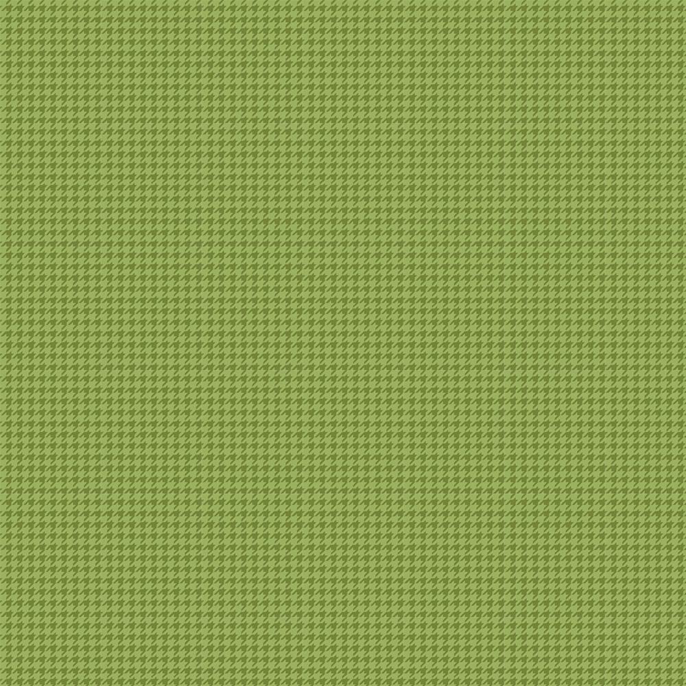 Tecido Tricoline Pied de Poule Verde - 0,50CM X 1,50M