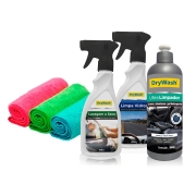 Kit - Lavagem a Seco Interna e Externa DryWash