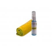 Kit Limpa Lentes e Telas + Pano de Microfibra