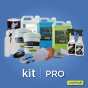 Kit PRO para 100 lavagens (produtos e acessórios)