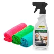 Lavagem a Seco DryWash + 3 Microfibras 30x30cm