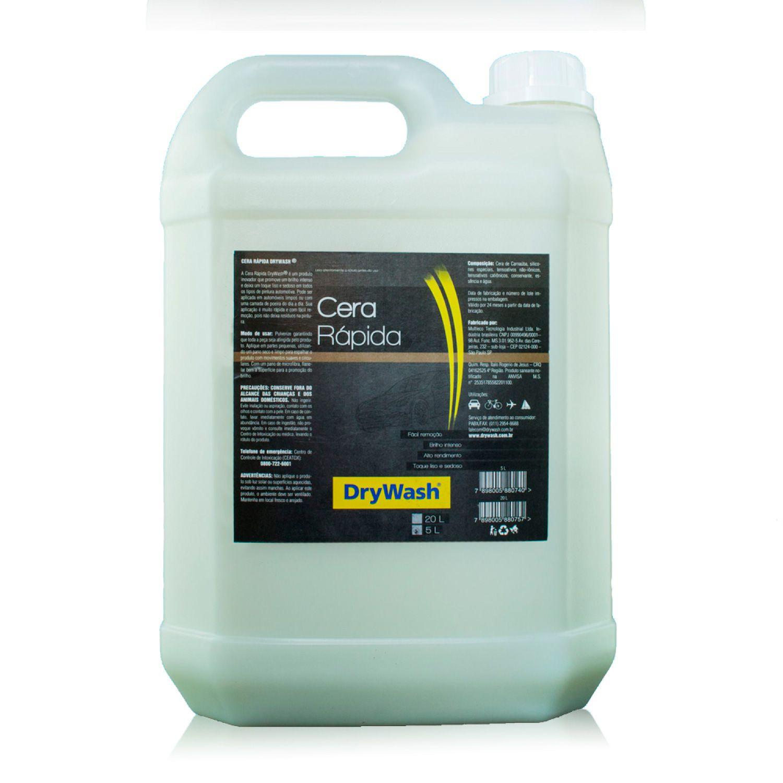 Cera Rápida líquida DryWash 5 Litros