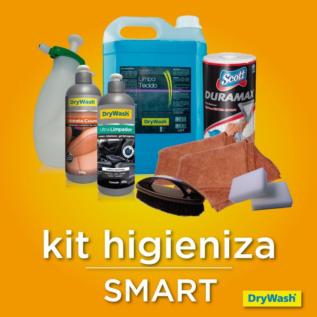 Kit Higienização Interna Automotiva