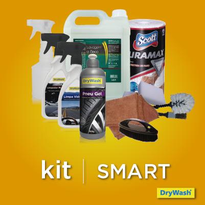 Kit SMART para 20 lavagens (Produtos e acessórios)