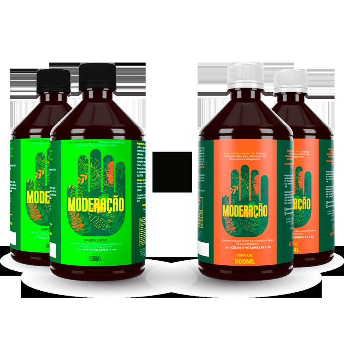 Kit Mix - 2 original + 2 limão
