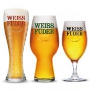 Combo Cerveja artesanal Weiss Füder  3 Copos variados