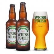 Combo cerveja Weiss Füder IPA 2 garrafas + 1 copo