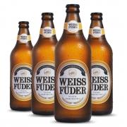 Combo cerveja Weiss Füder Pilsen 4 garrafas