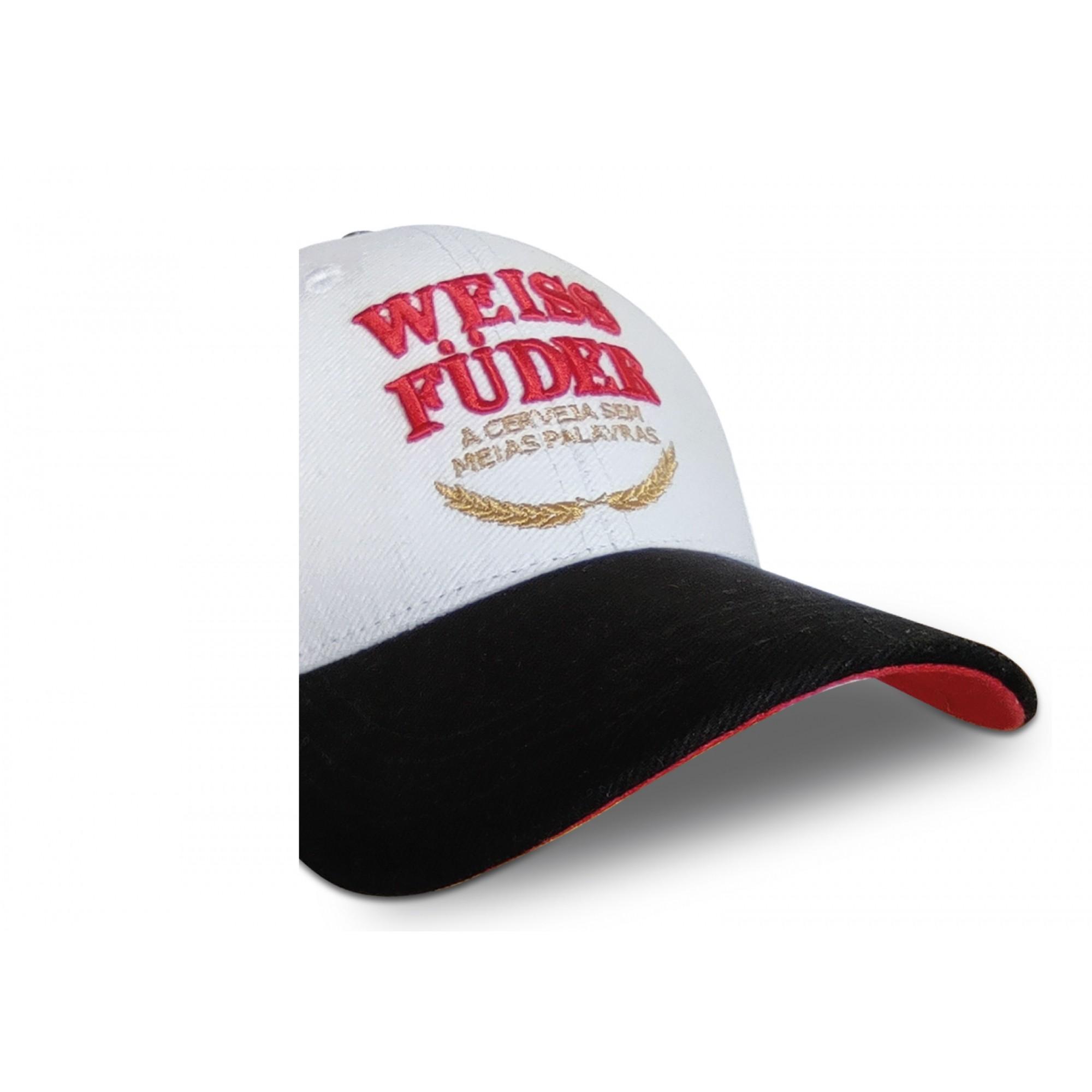Boné  branco cerveja Weiss Füder