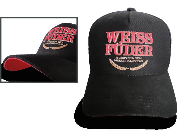 Boné preto cerveja Weiss Füder