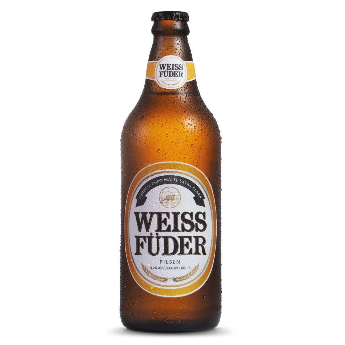 Cerveja Weiss Füder Pilsen 600ml
