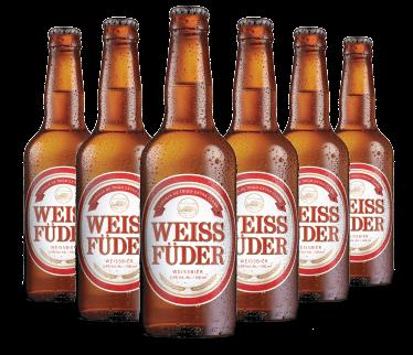 Combo cerveja artesanal Weiss Füder  6 Garrafas