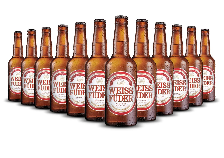 Combo cerveja artesanal Weiss Füder 12 Garrafas