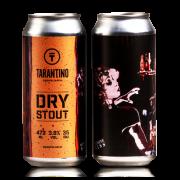 Cerveja Tarantino Dry Stout - lata 473ml