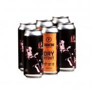 Cerveja Tarantino Dry Stout - 6 Pack  (R$15,90/lata)