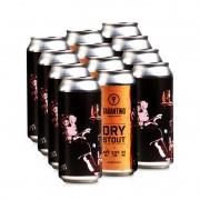Cerveja Tarantino Dry Stout  - 12 Pack (R$11,90/lata)