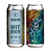 Cerveja Tarantino Witbier - lata 473ml