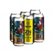 Cerveja Tarantino ZN Lager - 6 Pack (R$13,90/lata)