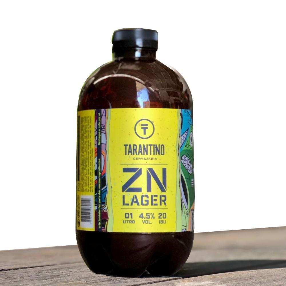 Cerveja Tarantino ZN Lager - Growler 1L
