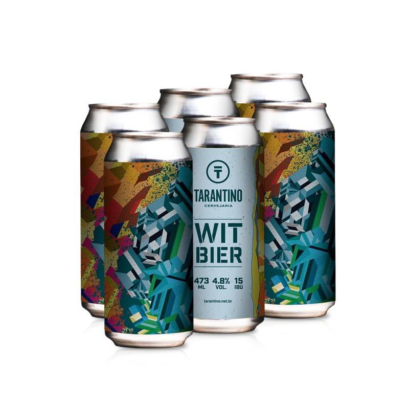 Cerveja Tarantino Witbier - 6 Pack (R$15,90/lata)