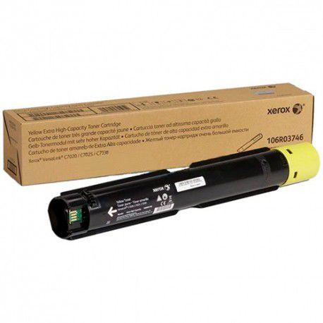 Cartucho De Toner Xerox C7020/7025/7030 Amarelo 16k Páginas 106R03746