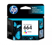 CARTUCHO DE TINTA HP 664 COLOR F6V28AB F6V28A | 1115 4536 2136 3636 3836 3635 4676 | ORIGINAL 2ML