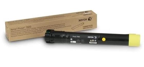 Cartucho De Toner Xerox 7800 Amarelo 106R01572  17,2K