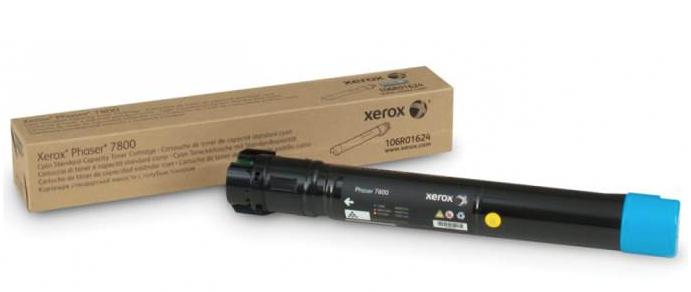 Cartucho De Toner Xerox Ciano 106R01570 17,2K