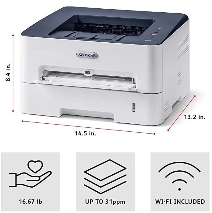 Impressora Xerox B210dni A4 Laser Mono 110V