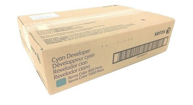 Revelador Xerox ciano X1000 005R00743
