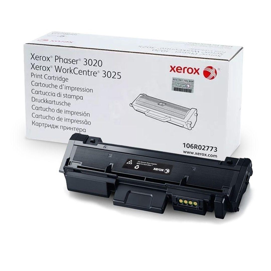 Cartucho De Toner Xerox 3020 Preto 106R02773 1,5K
